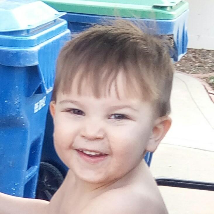 toddler mischevious smile freedom