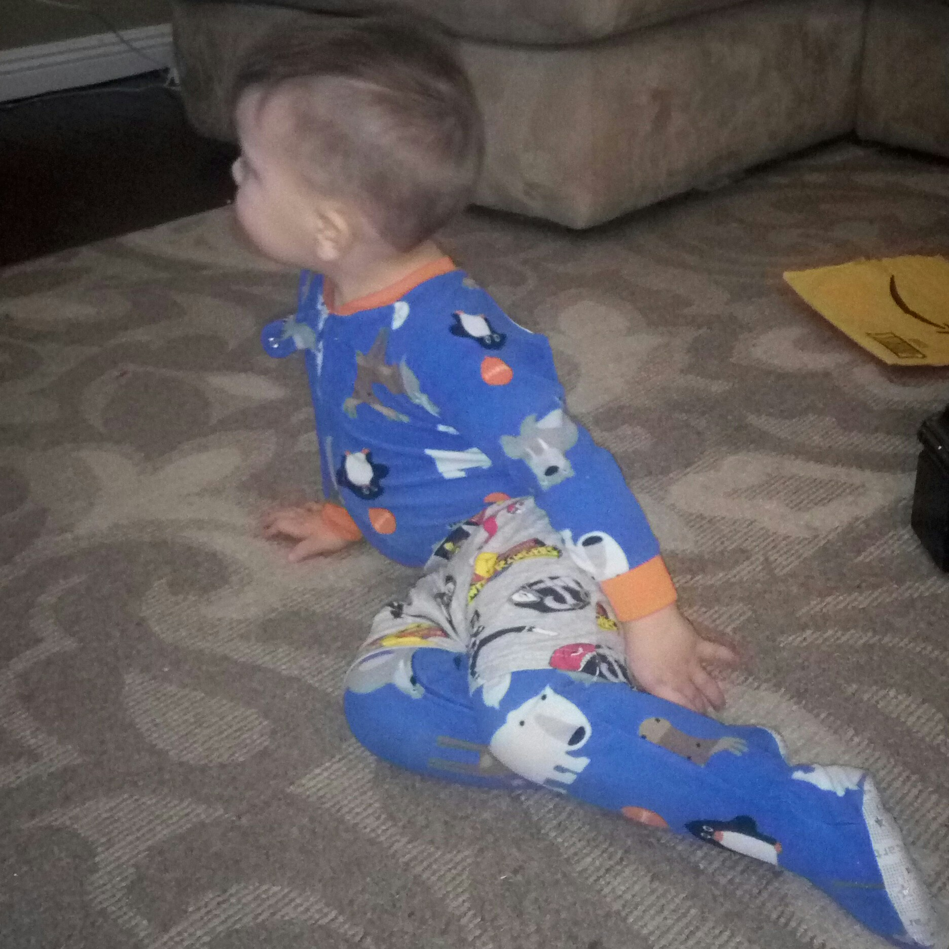 toddle fashion sense shorts over footsie pajamas freedom